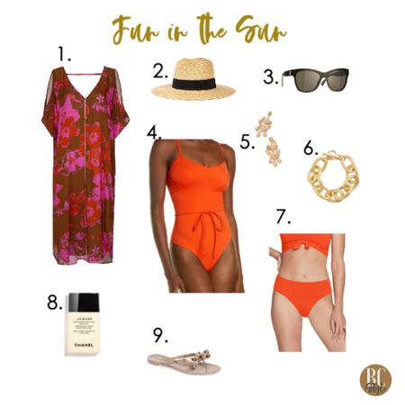 #accessories are the #summeressentials to look and feel as cool as a summer breeze. Shop the gorgeous coverup on my blog at barbaracrouch.com/blog     http://liketk.it/3hbX9 #liketkit @liketoknow.it #LTKswim #LTKtravel #LTKstyletip Shop your screenshot of this pic with the LIKEtoKNOW.it shopping app