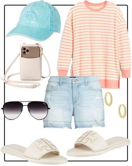 Casual summertime outfit http://liketk.it/3hcE3 #liketkit @liketoknow.it #LTKstyletip #LTKunder50 #LTKsalealert