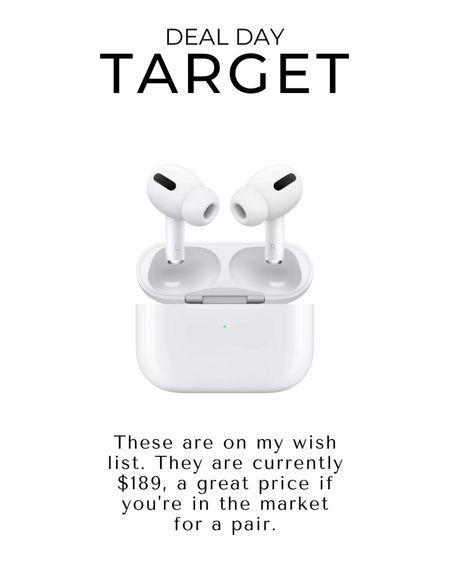 Target Deal Days | Apple AirPods Pro  http://liketk.it/3ic7G #liketkit @liketoknow.it #LTKsalealert