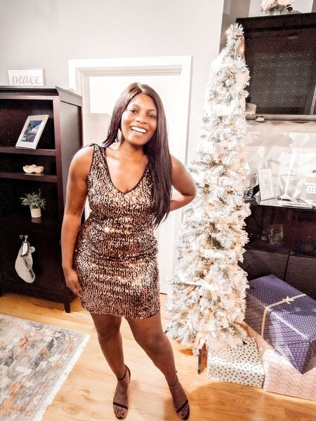 All smiles because this sparkly little number is less than $15 on Amazon!   http://liketk.it/2HRtn @liketoknow.it #liketkit #ltkunder25 #ltksalealert #amazon #dress #cocktail #party #nye #holiday