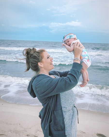 mermaid training starts early 🧜♀️  you know, just raising her up in the way she should go! 💁🏼♀️ • if you're traveling this summer, this jumpsuit is life. it's less then $40 & worth every penny. also linking Clark's white tank onesies that we will be living in this week! mermaid bummies were by her auntie, for sale soon, right @carole?! 😏 •  http://liketk.it/2CqiL #liketkit @liketoknow.it   #LTKbaby #LTKfamily #LTKsalealert #LTKtravel #LTKunder50 @liketoknow.it.family