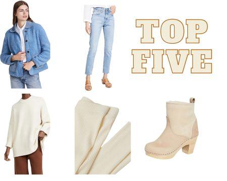 Last week's top 5!