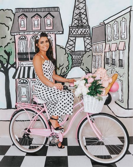 BONJOUR friends! Welcome to LA MAISON DE FÊTE (The Party Haus 💕) We are hosting a Parisian themed party this week that y'all are going to LOVE!!!! ITS SO GIRLY OMG!! It's my favorite party we've ever thrown!!!! . All of our outfits and bike are linked below AND on our stories!!💕☺️ you can also check out the whole process behind me painting the photo booth for this week!!  . I can't wait to show y'all everything! 💋 . . . #houston #houstonblogger #partyblogger #partyinspo #partyblogger  #partystylist #partydecor #ihavethisthingwithpink #pinkmyfeed #paris #parisparty #photobooth #pinkflashesofdelight #dspink   #liketkit @liketoknow.it http://liketk.it/2CcC9