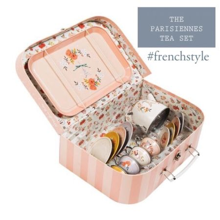 The tea set for thé little parisienne.  Toys for kids who enjoy the niceties.  #LTKkids #LTKbaby #LTKfamily @liketoknow.it.family http://liketk.it/39hJt #liketkit @liketoknow.it