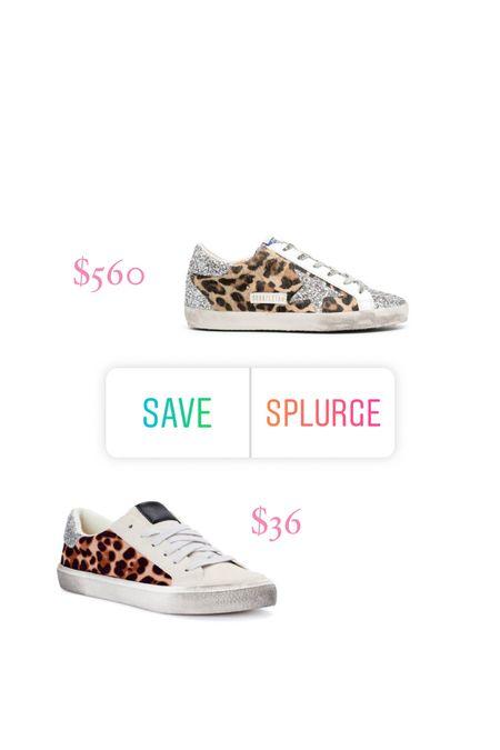 Leopard sneakers, golden goose  #LTKunder100 #LTKshoecrush #LTKunder50