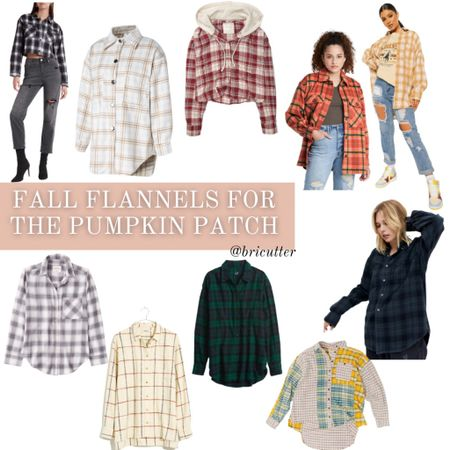 Fall flannels perfect for your trip to the pumpkin patch this season! Snap those fall family photos!   #LTKunder100 #LTKSeasonal #LTKstyletip