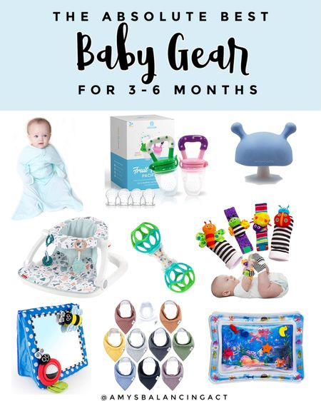 Here's a list of my favorite baby items for babies ages 3-6 months. Baby toys   Baby products   Best baby sleep sack .   #LTKunder50 #LTKfamily #LTKbaby
