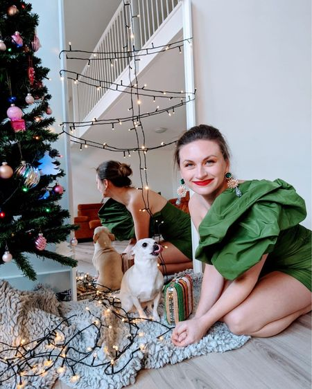 The Green HM dress #liketkit #LTKNewYear #LTKunder100 #LTKfit @liketoknow.it @liketoknow.it.europe http://liketk.it/34Nki