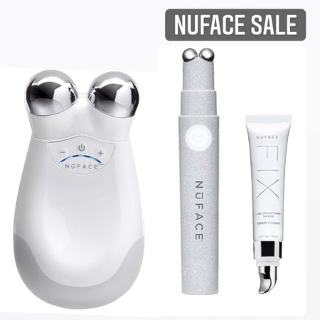 The best facial toning at home device I've been using right now in my beauty routine. It's ON SALE! It lifts and tighten skin the natural way to reveal a smoother, tighter, contoured complexion with long-lasting results. NuFace. Shop my daily finds by following me on the LIKEtoKNOW.it app  http://liketk.it/3iaL9 #liketkit @liketoknow.it #LTKseasonal #LTKsummer  #beautyroutine #morningroutine #nightroutine #nsale #nordstromanniversarysale #nordstrom   #LTKtravel #LTKsalealert #LTKbeauty