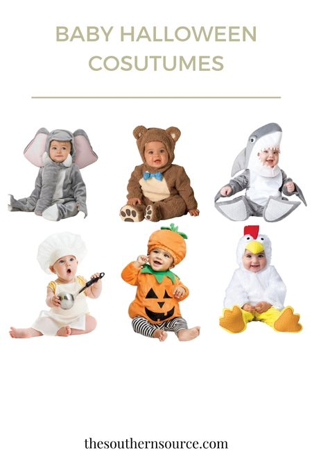 How cute are these!!!! Obsessed with baby costumes. #babycostumes #halloween #baby #babyshark #  #LTKunder50 #LTKHoliday #LTKSeasonal