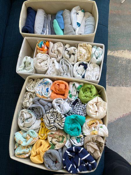 Nursery clothing organizer, dresser organizer,  #LTKbaby #LTKhome #LTKunder50