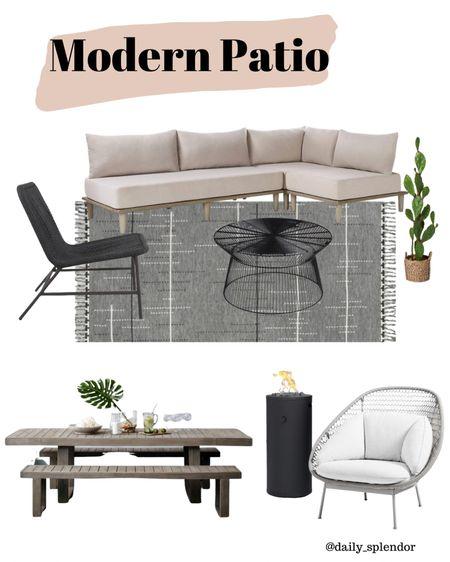 Modern Patio decor @liketoknow.it @liketoknow.it.home http://liketk.it/3fVm0 #liketkit #LTKhome #LTKfamily #LTKstyletip #ltkseasonal