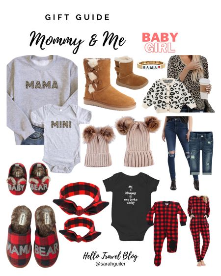 Mommy and me. Mama and me. Mommy & Me. Gift Guide. Matching pajamas. Family jammies. Mama and mini. Matching outfits. Mom gift ideas. Gifts for her. Baby girl. Baby gifts. Christmas gift ideas. Christmas gifts. Holiday gift guide. Matching beanies. Mama bracelet @liketoknow.it @liketoknow.it.family http://liketk.it/30Kq6 #liketkit #LTKfamily #LTKbaby #LTKbump