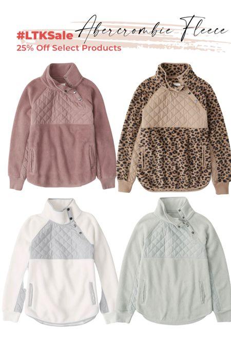 Abercrombie snap fleece Abercrombie style LTK   #LTKHoliday #LTKsalealert #LTKstyletip
