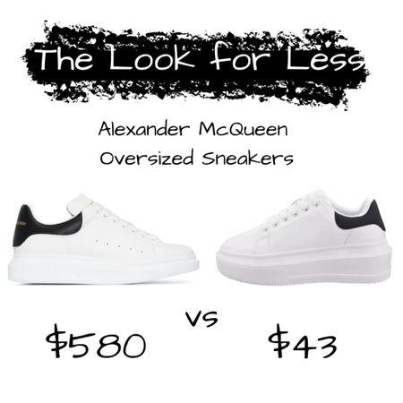 Alexander McQueen Oversized Sneakers Dupe  #LTKshoecrush
