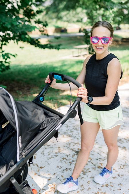My favorite stroller for jogging! Review coming to the blog soon.  #LTKfamily #LTKfit #LTKbaby