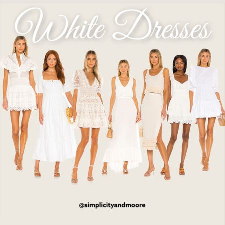 White dresses / perfect for the brides! http://liketk.it/3izGA @liketoknow.it #liketkit