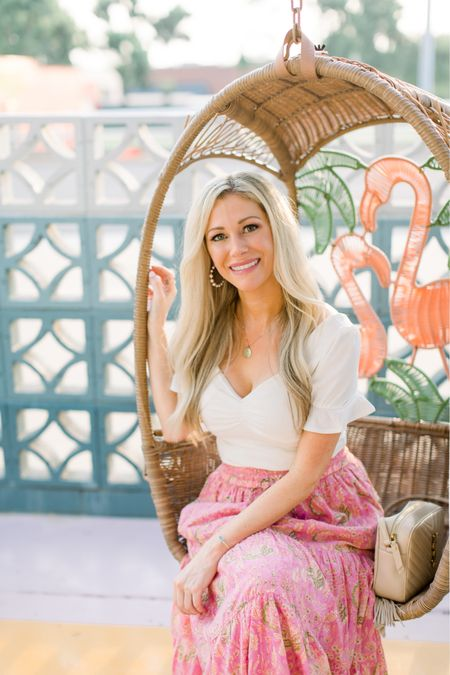 Fun pink skirt that will go perfectly into the fall!  #LTKSeasonal #LTKbacktoschool #LTKstyletip