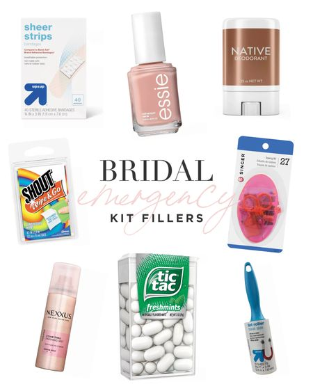 A few essentials you'll want to have on hand on wedding day. 💅🏼  #LTKwedding #LTKunder50 #LTKtravel