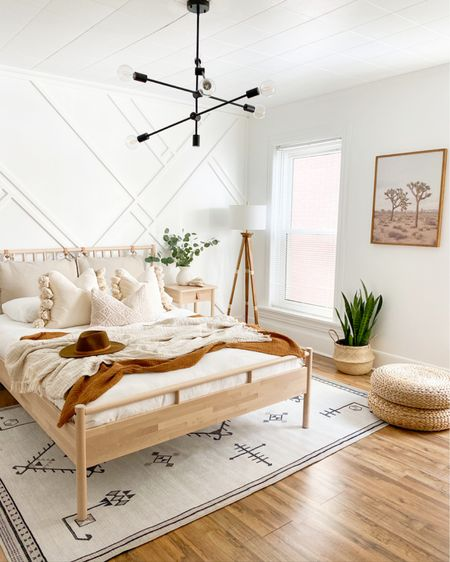 Bedroom decor!!  Bed frame and end table are from ikea!    http://liketk.it/38NGM #liketkit @liketoknow.it