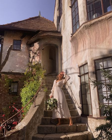 Reformation boho dress 🤍💭🕊 http://liketk.it/3h4w6 #liketkit @liketoknow.it #LTKwedding #LTKstyletip #LTKtravel