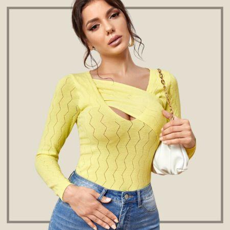 Asymmetrical neck sweater   #LTKstyletip #LTKunder100 #LTKunder50
