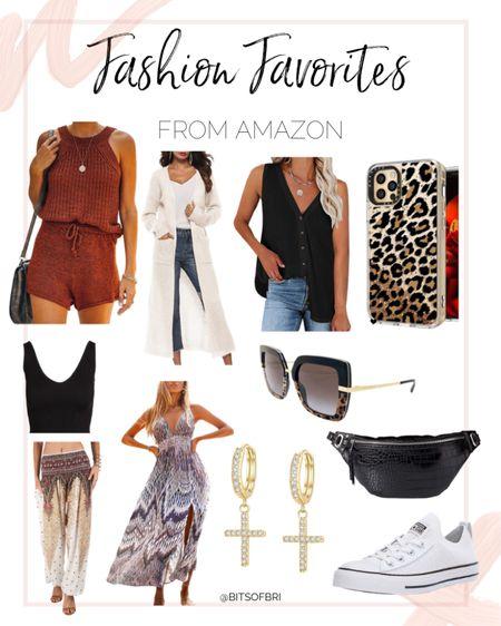 Fashion favorites. Amazon prime. Amazon day. Prime day. Lounge set. Sweater. Cardigan. Summer fashion. Sneakers. Earrings. http://liketk.it/3i8bG #liketkit @liketoknow.it #LTKsalealert #LTKstyletip #LTKunder50