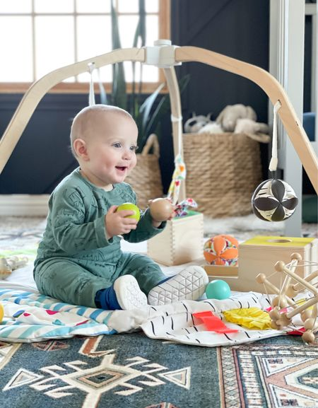 Decker LOVES our Lovevery toys. They are great for development and easy on the eyes.   #LTKbump #LTKfamily #LTKbaby