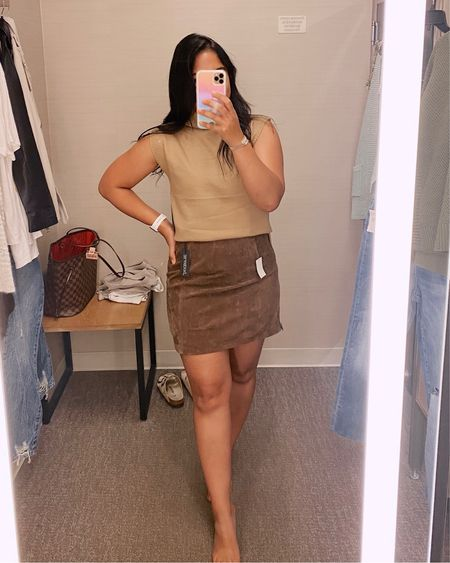 Nordstrom anniversary sale #neale Realized I wore this skirt a little but wrong, zipper should be in front not side either way it's cute!    #LTKstyletip #LTKunder50 #LTKsalealert