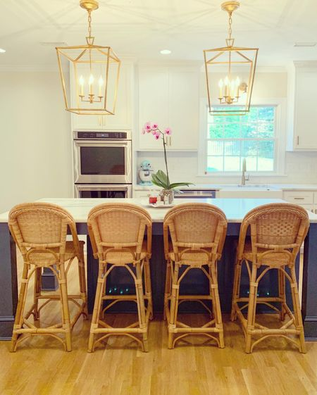 These long awaited stools are the cherry on top in our new kitchen!   #LTKhome #StayHomeWithLTK
