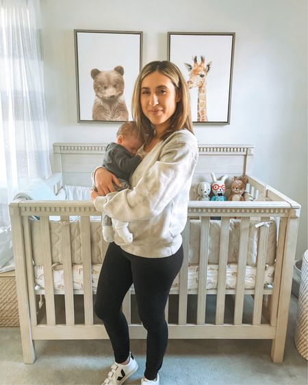 What day is it? Cool, me neither.  Linking my puff-sleeve tie dye sweatshirt on sale under $35 in tons of colors, solids and prints! Also in love with this baby boy's nursery - linking his crib and decor.  Screenshot any of my pics to shop in the @liketoknow.it app & give me a follow! http://liketk.it/3bIzq #liketkit @liketoknow.it.home @liketoknow.it.family #LTKbaby #LTKfamily #LTKhome