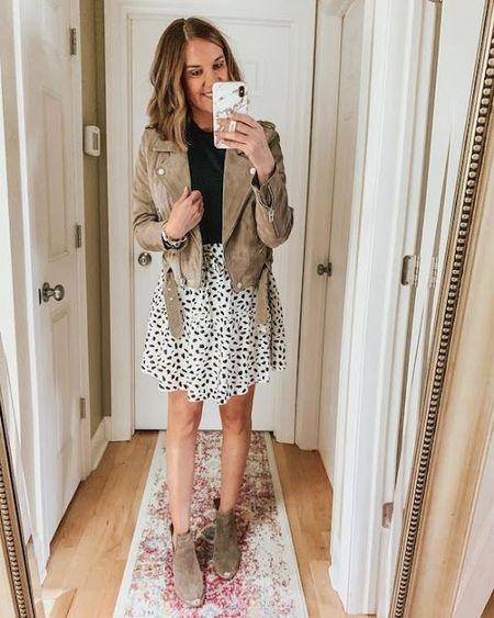 Transitional fall outfit inspo! #LTKstyletip #LTKunder100 #LTKSeasonal