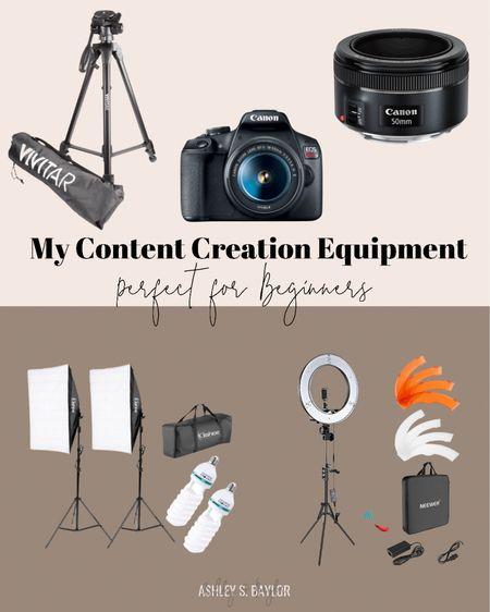 My photography equipment!   #LTKunder100