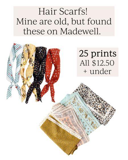 Hair scarf // Hair bandanas // All under $13 #LTKbeauty #LTKstyletip #LTKunder50 #liketkit @liketoknow.it http://liketk.it/3hOHV