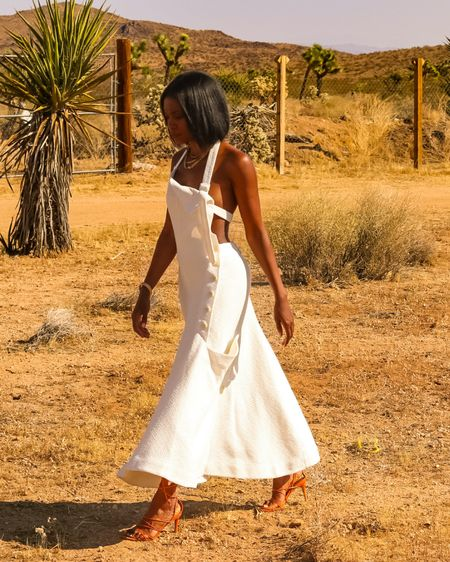 Perfect dress for the desert. Loved this super comfy and chic #jacquemus number for my birthday in Joshua Tree. http://liketk.it/2Zl3m #liketkit @liketoknow.it