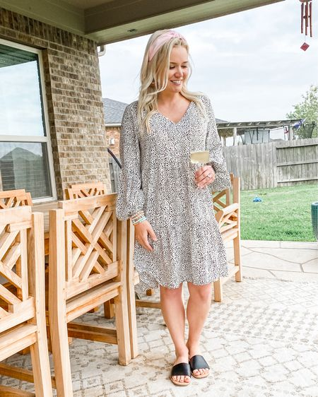 """Nothing says, """"Spring is hereeeee!"""" quite like a comfy dress with a matching 🏷 affordable price tag, sandals you can wear to the pool or dinner, headbands that hide dirty hair, and wine glasses that make happy hour 🍷 all the better. Cheers, y'all! 🥳   http://liketk.it/3cfOR #liketkit @liketoknow.it #LTKSpringSale #LTKunder50 #LTKshoecrush   Download the LIKEtoKNOW.it shopping app to shop this pic via screenshot"""