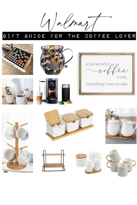 Kitchen decor, coffee station, coffee bar, nespresso, gift for mom, gift for her   #LTKfamily #LTKHoliday #LTKGiftGuide