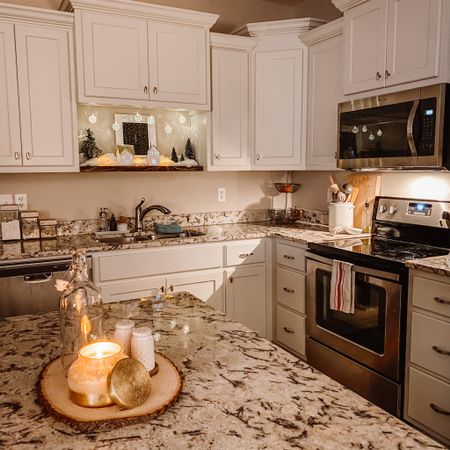 Alexa, turn on the lights. ✨ Happy New Year!  #anthrocandle #kitchendecor #homedecor #kitchenview   #LTKNewYear #StayHomeWithLTK #LTKhome