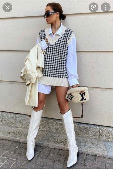 Sweater vest style   #LTKstyletip #LTKunder50