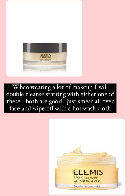 Double cleanse step 1   #LTKbeauty #LTKunder50 #LTKtravel