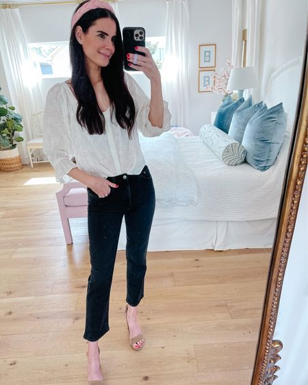 New shopbop arrivals! Size small top & size 26 jeans. http://liketk.it/3h74r #liketkit @liketoknow.it