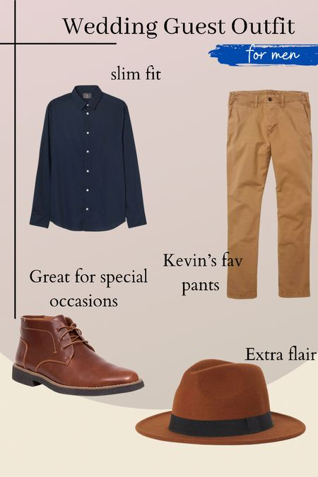 Kevin's outfit for our friends wedding. Easy to put together for any special event or date night!   #LTKstyletip #LTKmens #LTKwedding