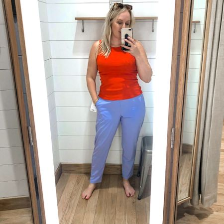 Nothing beats a $5 tank and how comfy these pants are. #hocspring #houseofcolour   #LTKtravel #LTKSeasonal