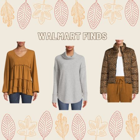 Tiered blouse: M Turtleneck: L Jacket: M