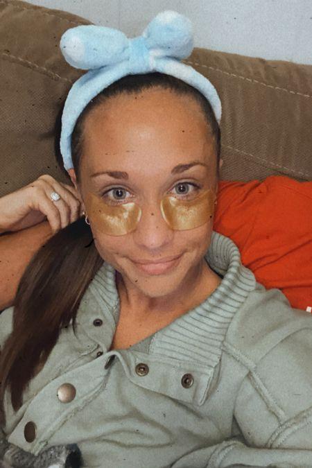 Self care Sunday, under eye patches   #LTKbeauty #LTKunder50 #LTKsalealert
