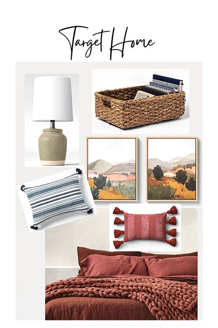 Target home decor Chunky knit blanket Wall decor painting Boho pillows   #LTKfamily #LTKcurves #LTKhome