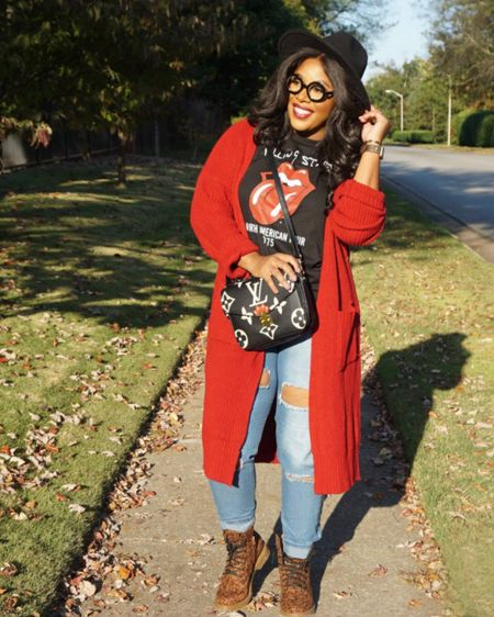 Fall is my absolute favorite!! I love layering and wearing my cute hats & cardigans!!  Oh and cute boots!! @liketoknow.it http://liketk.it/2Zzm9 #LTKcurves #LTKstyletip Download the LIKEtoKNOW.it shopping app to shop this pic via screenshot Download the LIKEtoKNOW.it shopping app to shop this pic via screenshot #liketkit