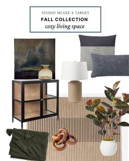 http://liketk.it/3juKf #liketkit @liketoknow.it  Studio McGee x Target fall collection - cozy living space fall decor ideas