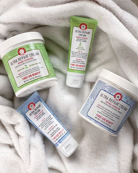 We moisturize our face, but do we always moisturize our bodies?!   I have to admit, I've skipped that step a few times 🤦🏼♀️ I haven't found a lotion or product I love until recently.   @firstaidbeauty Ultra Repair Cream deeply hydrates, calms and protects the skin. It's not greasy and can be used anywhere on the body, including your face. The Home & Away Sets from @qvc and @qvcbeauty are brilliant! You get a super sized and travel sized Ultra Repair Cream so there's no excuse for skipping out on moisturizing.    Follow me on the @liketoknow.it shopping app  http://liketk.it/34SKC  #firstaidbeautygiftedme #firstaidbeauty #octolyfamily #qvc #qvcbeauty #liketkit #LTKunder100 #LTKunder50 #LTKbeauty