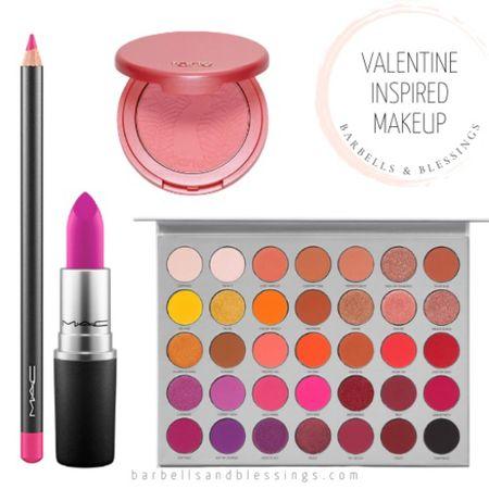 Valentines Inspired Makeup